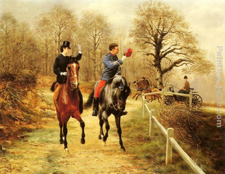 Jean Richard Goubie An Afternoon Ride